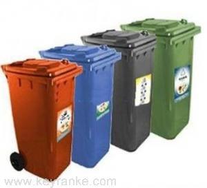 移动式垃圾桶